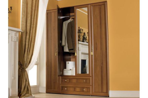 """Распашной шкаф для одежды и белья """"Милана"""""""