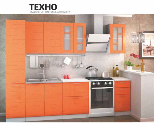 """Кухонный гарнитур """"Техно"""" 2200"""