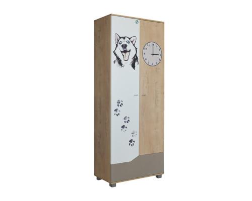 """Шкаф для одежды """"Хаски"""" Модуль №2 Ивр"""