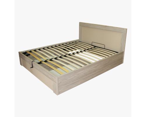 """Кровать 160 с подъемным механизмом ортопедическое основание """"Каньон Лайт"""" Трд"""