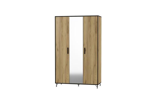 """Шкаф 3-х створчатый """"Лофт"""" модуль №3 Ивр"""