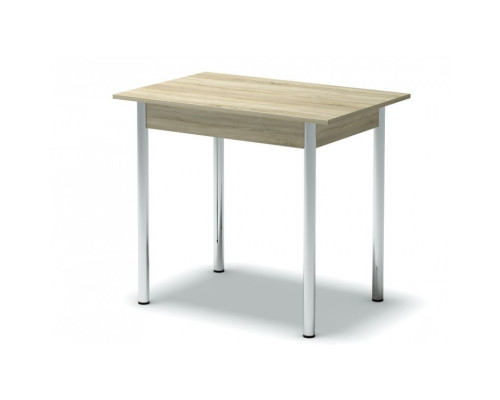 Стол обеденный (ноги хром) Мг
