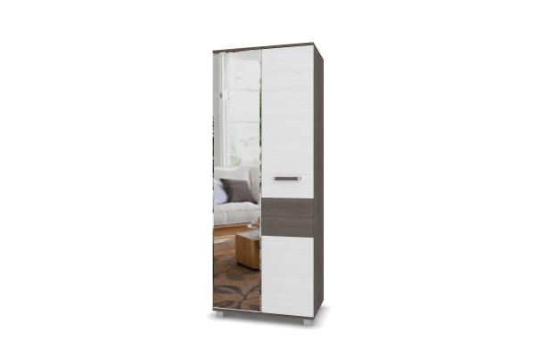 """Шкаф с зеркалом для одежды и белья """"Виора"""" В21 Модерн"""