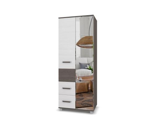 """Шкаф с зеркалом и двумя ящиками """"Виора"""" В24 Модерн"""