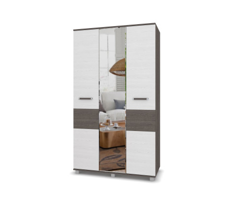 """Шкаф трехдверный с зеркалом """"Виора"""" В31 Модерн"""