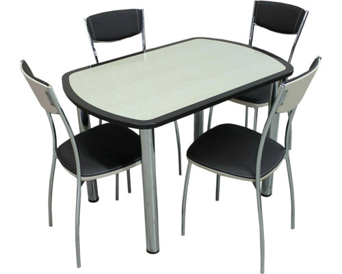 """Стеклянный стол """"Венеция"""""""