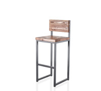 Барный стул Лофт - 1 дерево Фрп